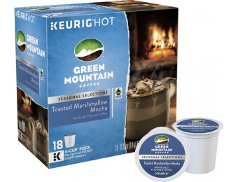 58% off Green Mountain Toasted Marshmallow Mocha (18-Pack)