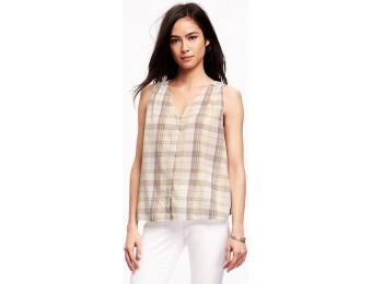 82% off Old Navy Swing Button Down Top For Women