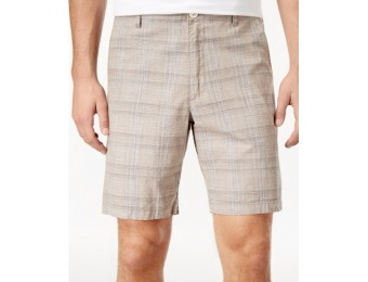 68% off Tasso Elba Men's Space-Dyed Plaid Shorts