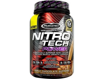 36% off Nitro Tech Power Supplement