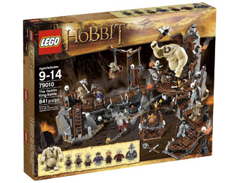$45 off LEGO The Hobbit Goblin King Battle 79010