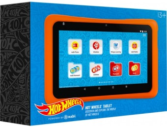 "$30 off nabi Hot Wheels 7"" Tablet 16GB Wi-Fi"