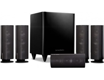 70% off Harman Kardon HKTS 30 5.1 Home Theater Speaker System