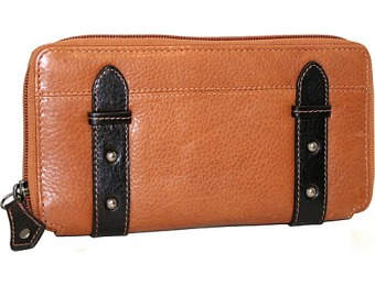 75% off Nino Bossi My Zip Around Wallet, Cognac