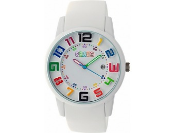 83% off Crayo Festival Watch, White