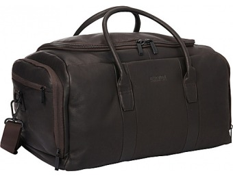 63% off Kenneth Cole Reaction Duff Guy Colombian Leather Duffel Bag