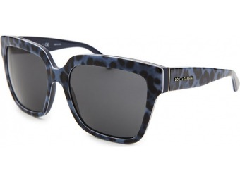 71% off Dolce & Gabbana Women's Blue Leopard Print Sunglasses