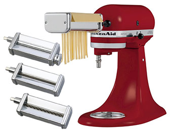 $100 off KitchenAid Pasta Roller Accessory (3 Pieces)