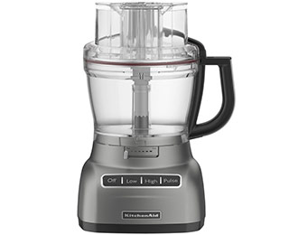 $38 off KitchenAid 9-Cup Food Processor (Contour Silver)