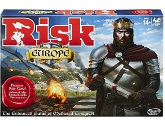 50% off Risk Europe Game