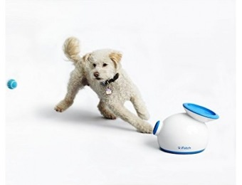 $89 off iFetch Interactive Ball Thrower for Dogs, Small