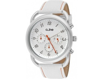 92% off a line Maya Chrono Interchangeable Leather SS Watch