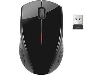 64% off HP x3000 Wireless Optical Mouse (Black)