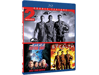 50% off Stealth & Vertical Limit on Blu-ray (2 movies)