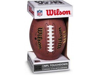 50% off Wilson NFL Touchdown Official Size Football