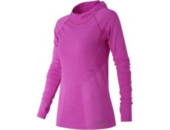 68% off New Balance M4M Seamless Womens Performance Hoodie
