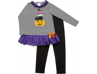 88% off Girls (4-6x) Good Lad 2pc. Halloween Top Set