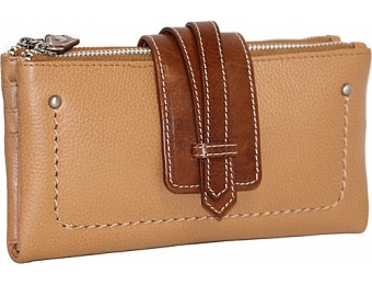 60% off Nino Bossi Crisscross Double Zip Wallets