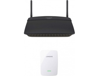 43% off Linksys EA2750 Wireless Router with Range Extender