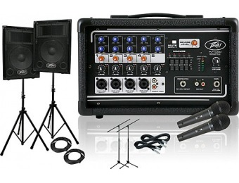 71% off Peavey PV 5300/PVi 10 PA Package