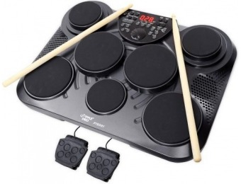 $363 off Pyle-Pro PTED01 Electronic Table Top Digital Drum Kit