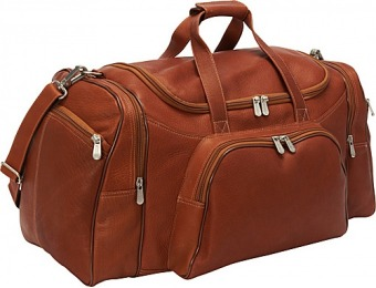 63% off Piel Travel Duffel, Saddle