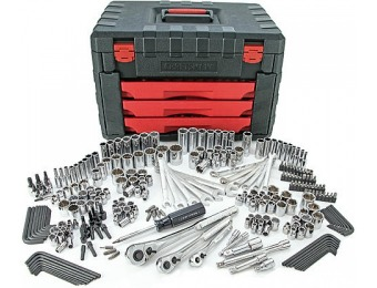 57% off Craftsman 270pc Mechanics Tool Set with 3-Drawer Chest