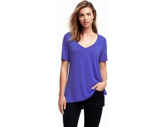 71% off Old Navy Relaxed Drapey V Neck Tee For Women