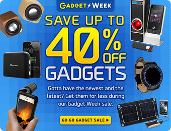 Save up to 40% off Cool Gadgets at ThinkGeek, Over 300 Items on Sale