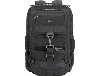 "31% off Solo 17.3"" Laptop Backpack, Heavy-duty Parachute Nylon"
