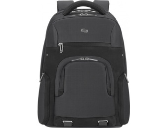 "75% off Solo Aegis 15.6"" Laptop Backpack, RFID Data Protection"