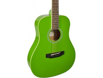 69% off Stony River Srmd1 Mini Dreadnought Acoustic Guitar, Green