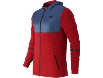 53% off New Balance N Transit Hoodie Mens Jacket
