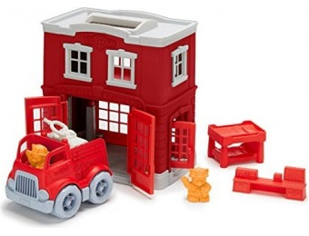 50% off Green Toys Fire Station Playset