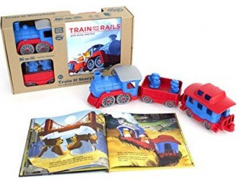 50% off Green Toys Storybook Gift Set Includes Train & Storybook