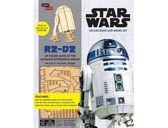 72% off IncrediBuilds: Star Wars: R2-D2 Deluxe Book and Model Set