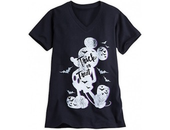 91% off Mickey Mouse Trick or Treat Tee for Women