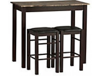 83% off Linon Home 3-Piece Tavern Set, Espresso