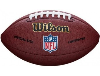 50% off Wilson NFL Limited Pro Official Football