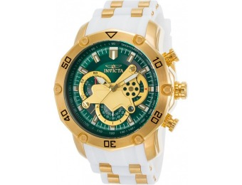 89% off Invicta 23422 Pro Diver Chrono 18K Gold Plated SS Watch