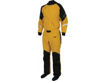 $306 off Nrs Men's Extreme Dry Suit, Gray/Yellow, Medium