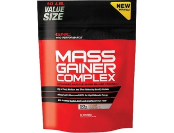 60% off GNC Pro Performance Mass Gainer Complex