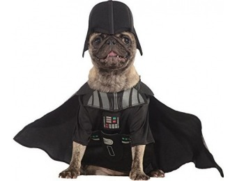 87% off Rubies Costume Star Wars Collection Pet Costume, Darth Vader