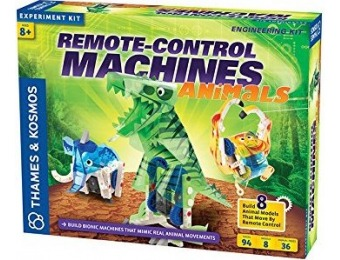 50% off Thames & Kosmos RC Machines: Animals Science Kit