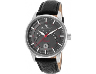 95% off Lucien Piccard Sorrento Leather Watch