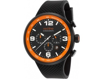 93% off Red Line Apex 12 Chrono Orange Accent Watch