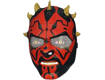 54% off Star Wars Force Tech Darth Maul Electronic Helmet
