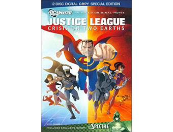 50% off Justice League: Crisis on Two Earths (Special Edition) DVD