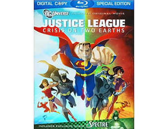 50% off Justice League: Crisis on Two Earths (Special Edition) Blu-ray