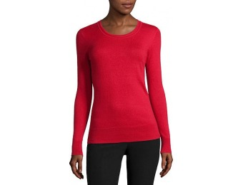 67% off Worthington Essential Long-Sleeve Pullover Sweater